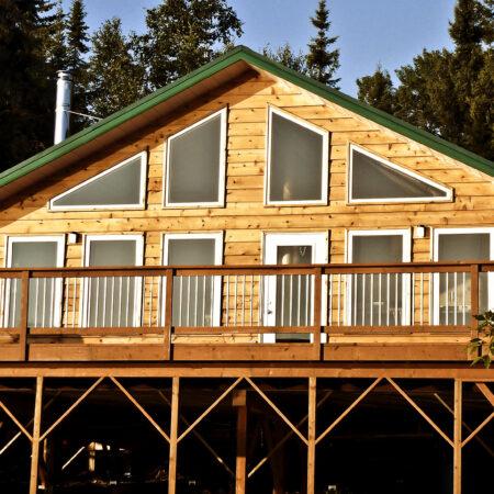 Tamarack Ridge cabin
