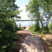 Hillcrest Cabin New Dock