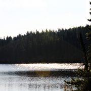 Tamarack Ridge Cabin Front deck View