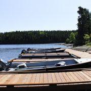 Tamarack Ridge Cabin New Boats and Dock